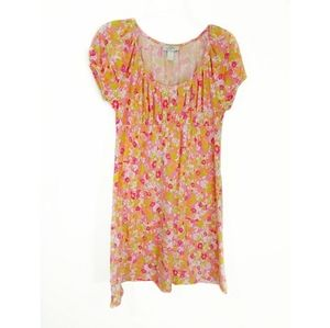 Ann Taylor Loft jersey floral dress size small